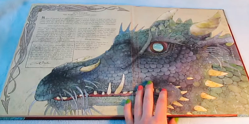 Detailed review of Dr. Ernest Drake Dragonology The Complete Book of Dragons