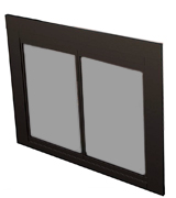 Pleasant Hearth AN-1010 Alpine Fireplace Glass Door