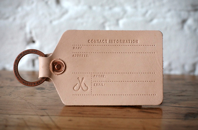 Best Leather Luggage Tags Not to Lose Your Things