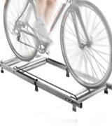 CyclingDeal Alloy Indoor Bicycle Bike Rollers