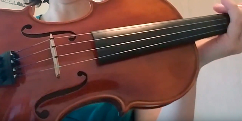 Review of Mendini MV300 Solid Wood Satin Antique Violin Size 4/4