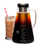 ovalware RJ3-06 Cold Brew Iced Coffee Maker