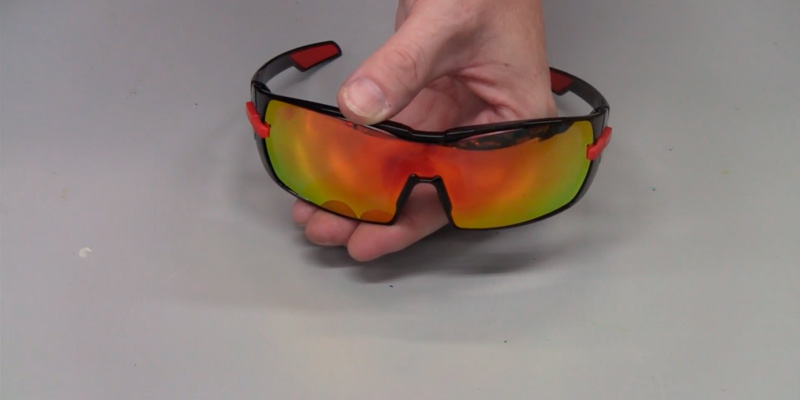 Mira Breeze R Polarized Sports Glasses in the use