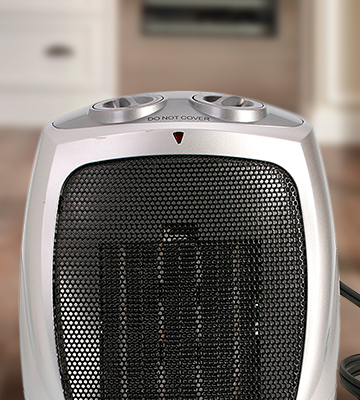 Review of Brightown Heater 903 750W/1500W ETL Listed Ceramic Space Heater