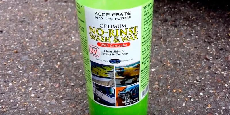 Review of Optimum NRWW2012Q No Rinse Wash & Wax
