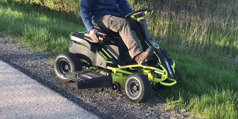 Review of Ryobi RY48110 38-Inch Electric Riding Lawn Mower