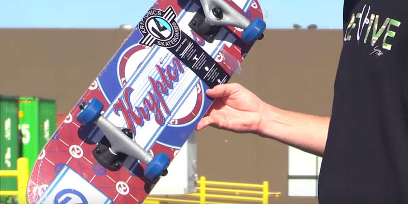 SCSK8 Pro Skateboard / Crusier Pre-Assembled Complete in the use