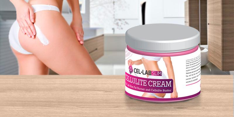 Cel-Lab Slim Cellulite Cream All Natural Cellulite Cream in the use