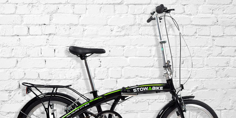 Stowabike Folding Compact City Road Bike in the use