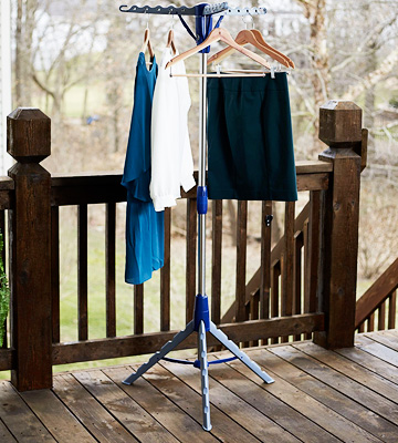 Review of Household Essentials Indoor Tripod Clothes Drying Rack