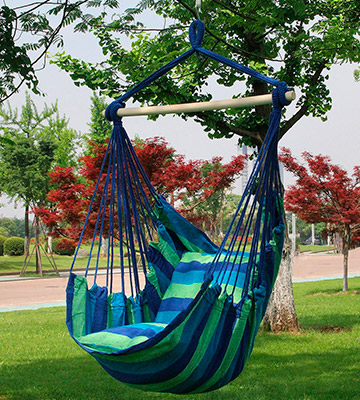 Review of Sorbus Hanging Rope Hammock Chair Swing