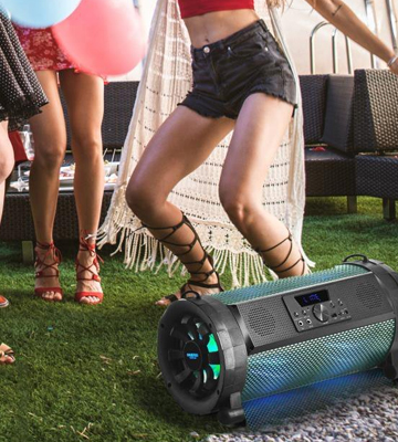 Review of Pyle PBMSPG190 Bluetooth Boombox Street Blaster Stereo Speaker