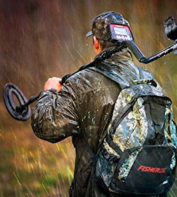 Review of Fisher F22 Weatherproof Metal Detector