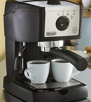 Review of Delonghi EC155 15 BAR Pump Espresso and Cappuccino Maker