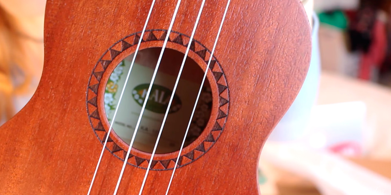 Kala KA-15S Mahogany Soprano Ukulele in the use