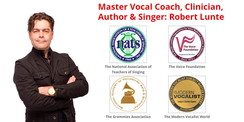 The Vocalist Studio Robert Lunte & The Four Pillars of Singing in the use