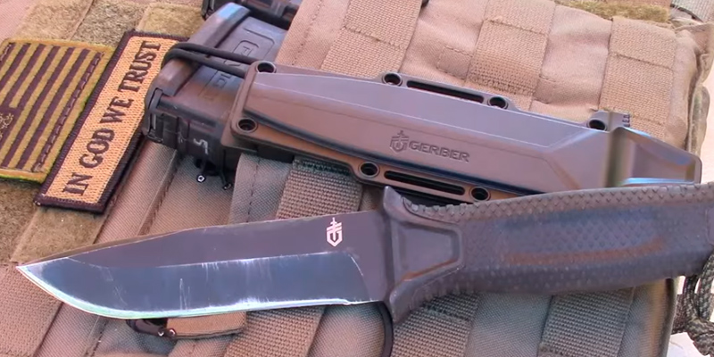 Review of Gerber StrongArm 420 High Carbon Stainless Steel Fixed Blade Survival Tactical Knife