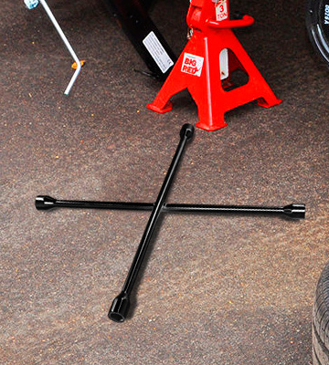 Review of Performance Tool W1 Black 20 SAE/Metric 4-Way Cross Lug Wrench