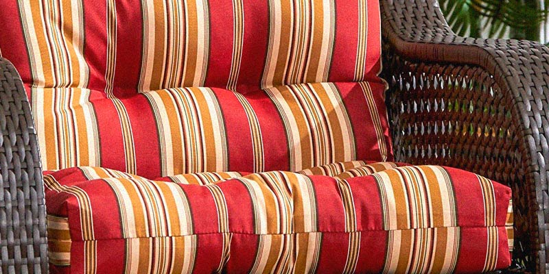 Review of Greendale Home Fashions 4808-Roma Stripe Outdoor Seat/Back Chair Cushion