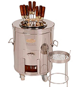PURI Oven-SS2 Deluxe-Large Home Tandoor
