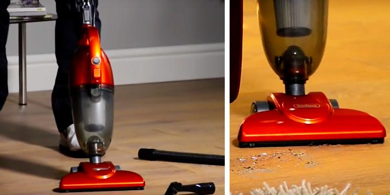 VonHaus 2-in-1 Stick & Handheld Vacuum in the use