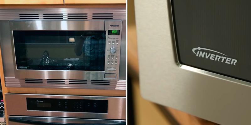 Panasonic NN-SD945S Countertop/Built-In Microwave Oven in the use