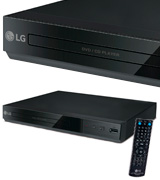 LG DP132H DVD Player (HDMI, 1080P Upscaling, USB)