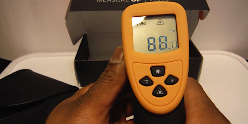 Etekcity Lasergrip 800 Digital Infrared Thermometer in the use