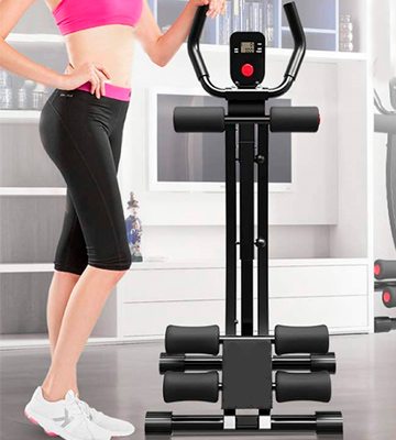 Review of Fitlaya Fitness Foldable Core & Abdominal Trainers AB Workout Machine