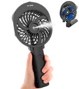 OPOLAR Misting Handheld Fan Foldable