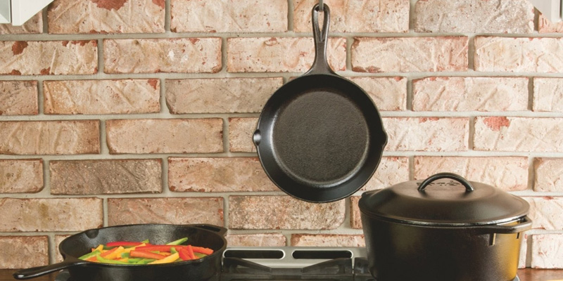 Review of Lodge 10SK3ASH41B Cast Iron Skillet with Red Silicone Hot Handle Holder