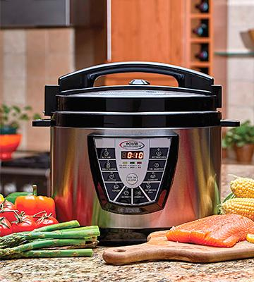 Review of Power Pressure Cooker XL PPC 6 Quart Pressure Cooker