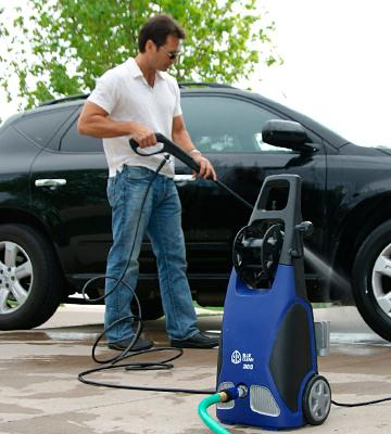 Review of AR Blue Clean AR383 Detergent Bottle & Hose Electric Pressure Washer