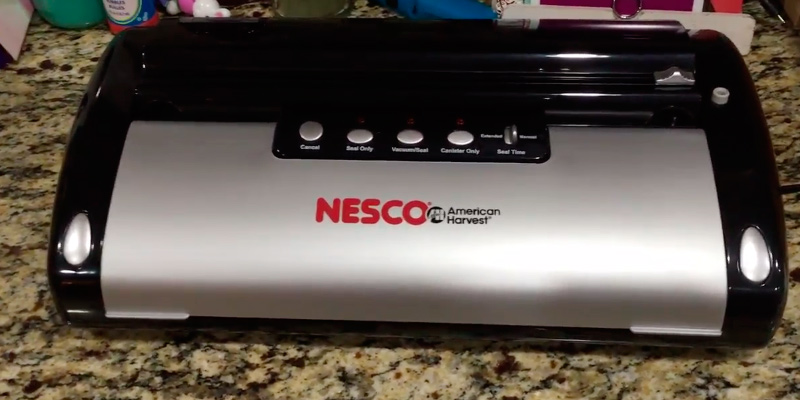 Review of Nesco VS02 Food Vacuum Sealer
