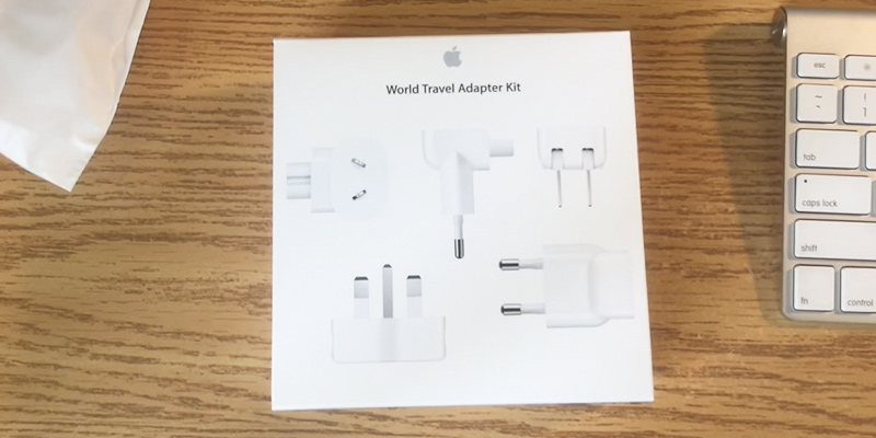 Review of Apple World Travel Adapter Kit