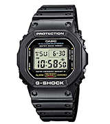 Casio DW5600E-1V Shock-resistant Watch
