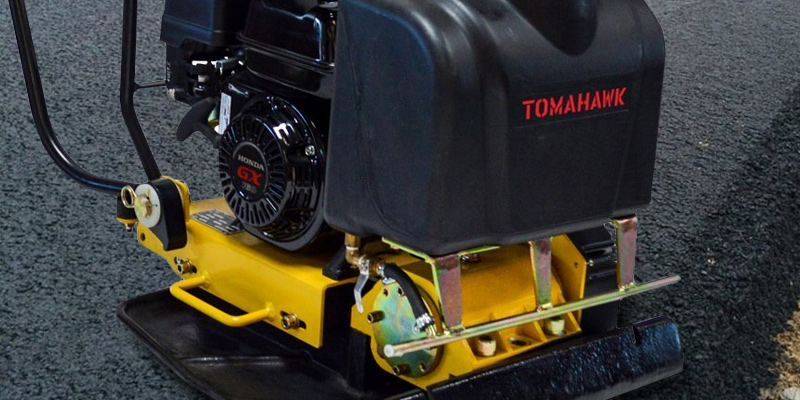 Review of Tomahawk Power TPC90H Forward Plate Compactor, Vibratory, Dirt, Asphalt, Soil
