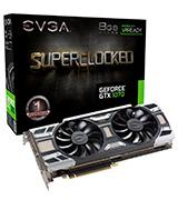 EVGA GeForce GTX 1070 SC GAMING ACX 3.0 8GB GDDR5 Graphics Card