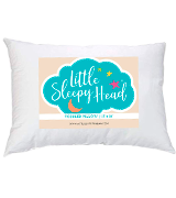 Little Sleepy Head Toddler Pillow Baby Pillow for Sleeping