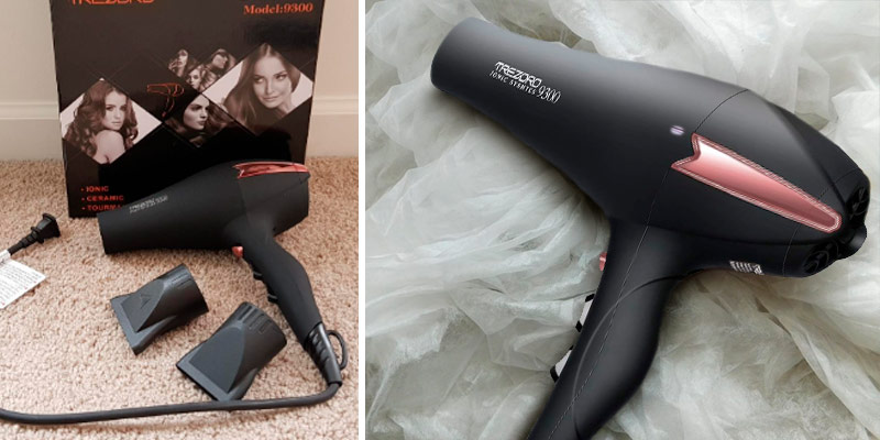 Review of TREZORO Ionic Systems 9300 Salon Hair Dryer