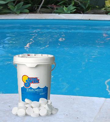 Review of In The Swim Pool Chlorine Tablets