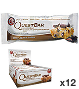 Quest Nutrition Protein Bar, Low Сarb, Chocolate Chip