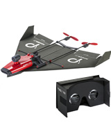 PowerUp FPV Paper Airplane VR Drone Model Kit