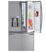 Kenmore Elite 73165 28.5 cu. ft. Bottom Freezer Refrigerator with Grab-N-Go Door