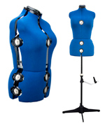 BHD BEAUTY 13 Dials Adjustable Mannequin Dress Form