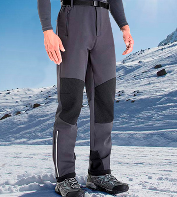 Review of Clothin Fleece-Lined Water and Wind-Resistant Pants