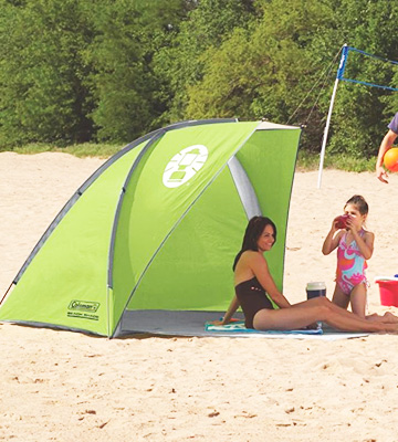 Review of Coleman DayTripper Beach Shade