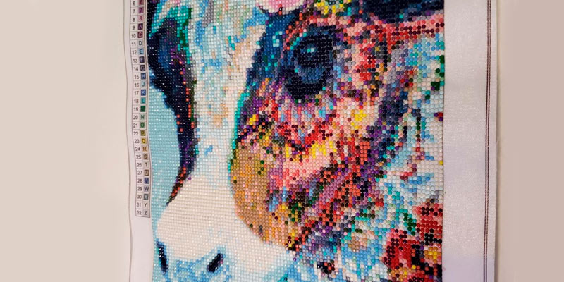 Review of WYQN Colorful Cow DIY 5D Diamond Painting by Number Kits