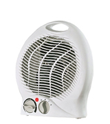 Optimus H-1322 Fan Heater with Thermostat