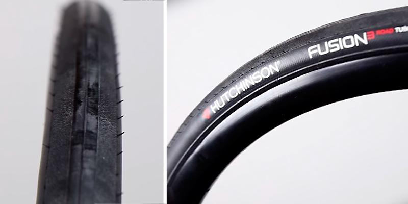 Hutchinson Fusion 3 Tubeless Road Tire in the use